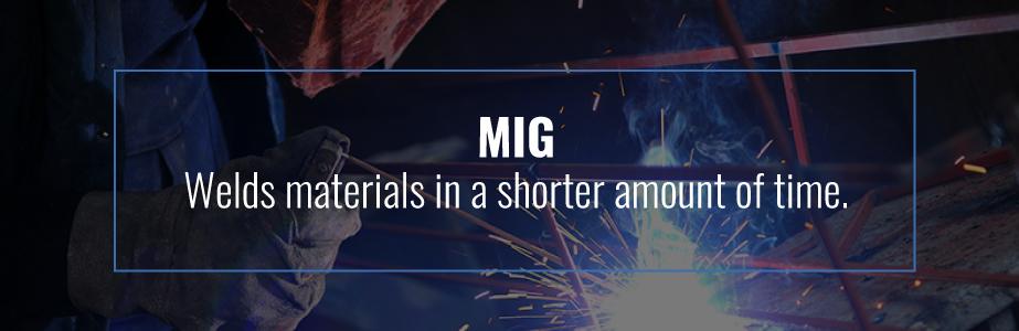 MIG vs  TIG Welding | Fairlawn Tool Inc